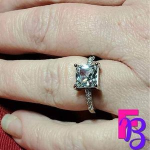 Size 9 Classic 2 CTW Princess Engagement Ring
